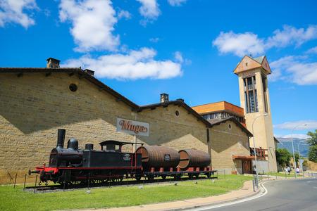 rioja: Bodegas Muga is a Spanish winery based in Haro, in the Rioja Alta region.
