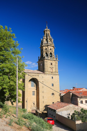 Church of Saint Thomas in the center of Haro, capital of La Rioja region, Spain