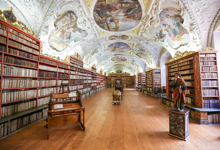 Library of Strahov Monastery, Prague, Czech Republic
