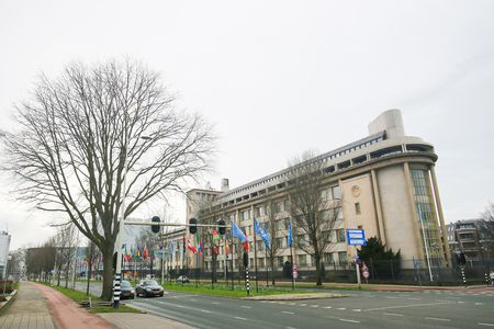 former yugoslavia: ADC-ICTY building in The Hague, The Netherlands, Association of Defence Counsel practising before the International Criminal Tribunal for the Former Yugoslavia. Editorial