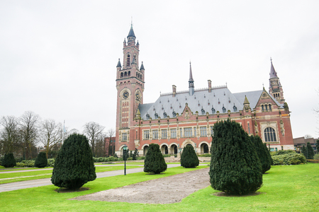 the hague: The Peace Palace is an international law building in The Hague, the Netherlands. It houses the International Court of Justice, the Permanent Court of Arbitration and a Library. Editorial