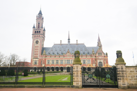 The Peace Palace is an international law building in The Hague, the Netherlands. It houses the International Court of Justice, the Permanent Court of Arbitration and a Library. Editorial