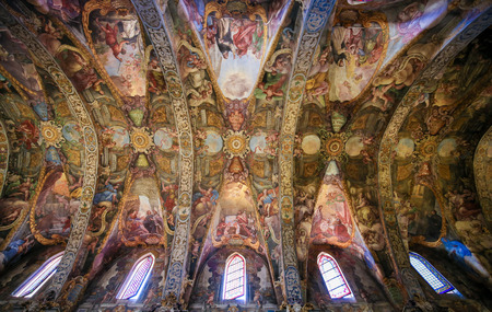 17th Century Frescoes in the Church of Saint Nicholas and Saint Peter Martyr in Valencia, Spain