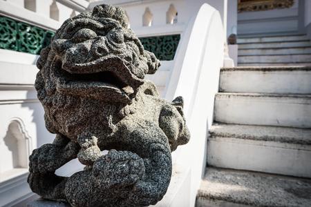 stucco: Lion stucco Stock Photo