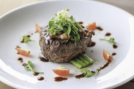 homemade steak