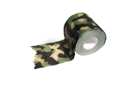 toilet paper, camouflage color Stock Photo - 2100055
