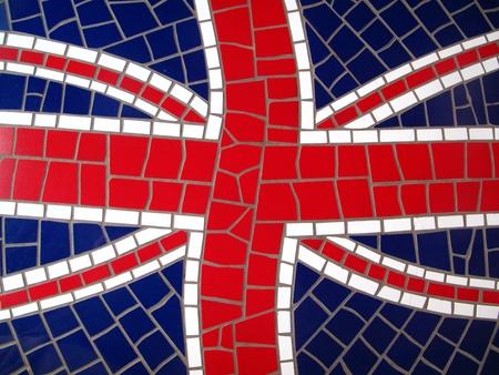 Mosaic Union Jack photo