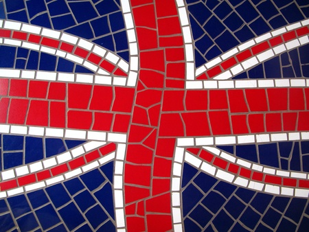 Mosaic Union Jack photo