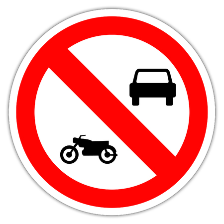 road signs in France: motorcycles and motorcycles