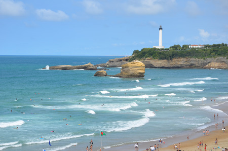 Town of Biarritz, France