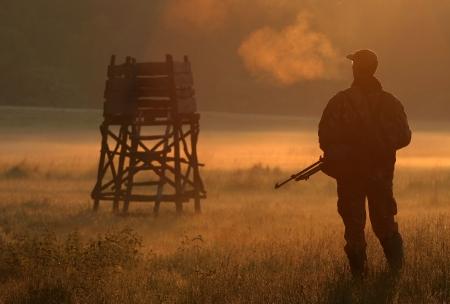 fusil de chasse: Chasseur