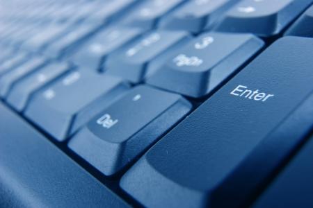 Enter button on keyboard photo
