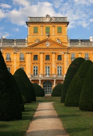 Baroque mansion with pleasure graden