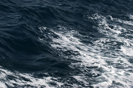 ondulation: Les vagues de l'oc�an dans la temp�te Banque d'images