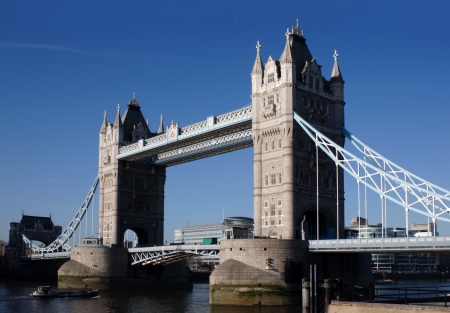 The Tower Bridge the famous landmark of britain and London Stock Photo - 15733076