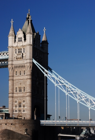 The Tower Bridge the famous landmark of britain Stock Photo - 15733074