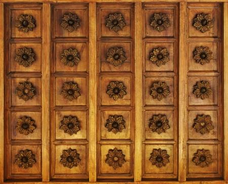 marqueteria: De madera con incrustaciones de techo textura de fondo