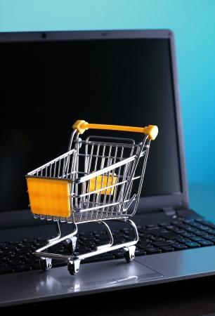 netbook: E-commerce Stock Photo
