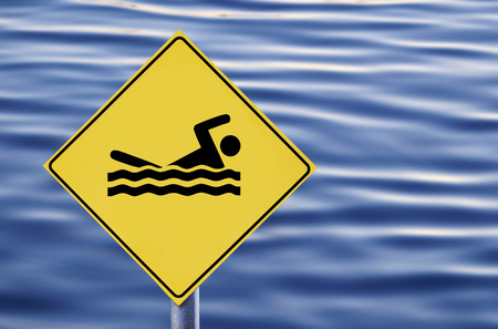 predilection: Swimming allowed in water sign