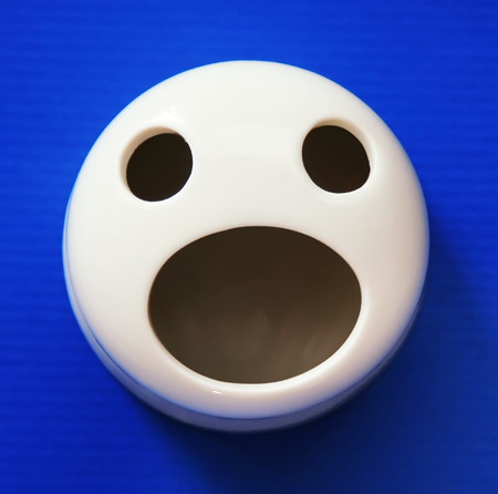 anthropomorphic: Anthropomorphic Face eyes open mouth