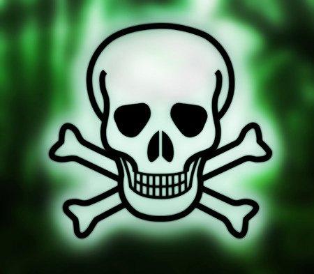 Skull And Crossbones Symbol Of Danger Stock Photo Picture And