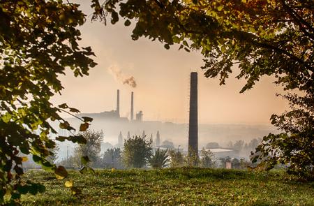 power station Imagens
