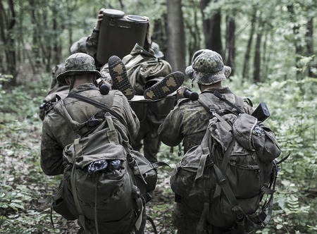 Hungary, Orfu - May 02, 2018: Elite Challenge is a program designed both for civilians and professionals who want to try out what it feels like to get through Special Forces selection