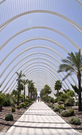 metal structure: Palm park covered for a metal structure