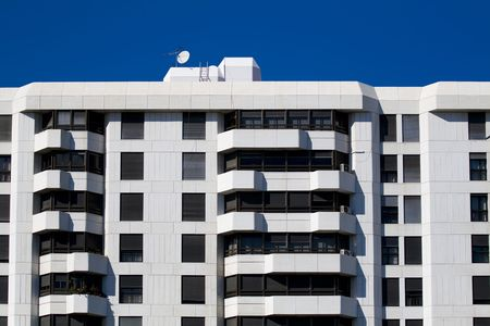 Building facade full of luxury apartments Stock Photo - 2195846