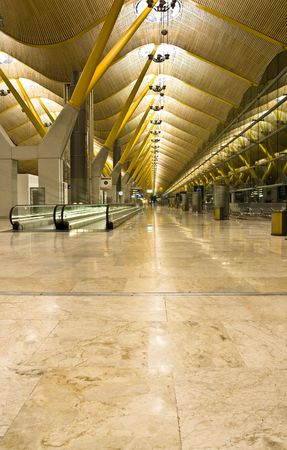 barajas: T4 terminal, in the Barajas airport, Madrid.