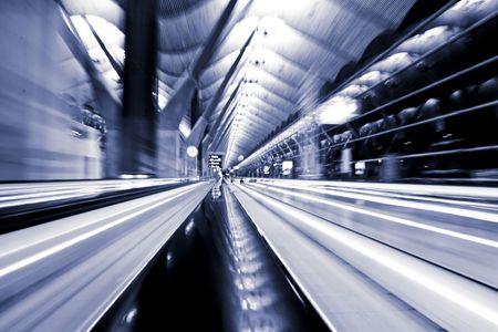 lightbeam: Shoot taken in the T4 airport terminal, Madrid.