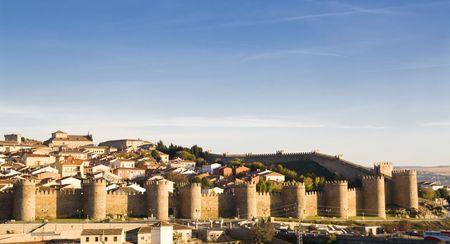 Avila city, Spain. UNESCO monument. Stock Photo - 3010882