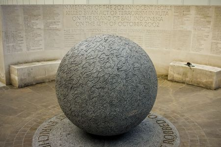 bombings: Memorial to the victims of Bali bombings, London Stock Photo