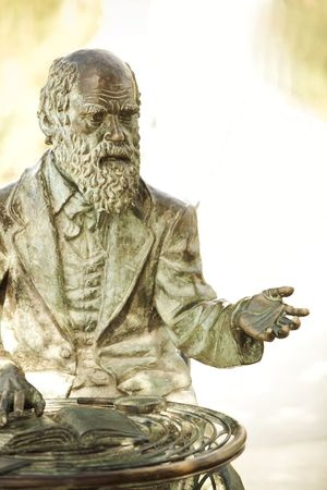 Charles Darwin, father of the Evolution