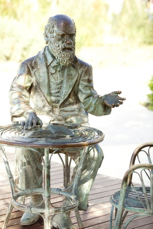 Charles Darwin, father of the Evolution photo