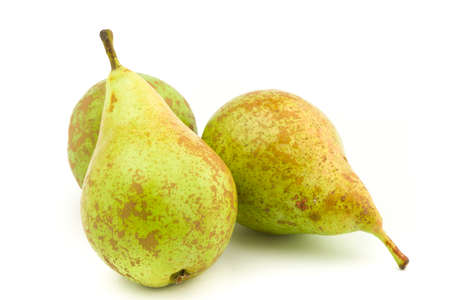 clave: Pears isolated over white background Stock Photo