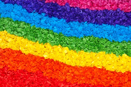 gay flag with the colors of the rainbow Stock Photo - 10992608