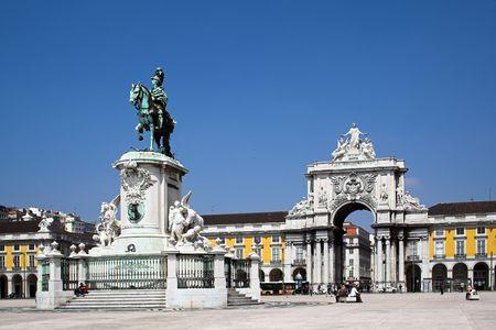 Commerce Square a Lisbona, Portogallo