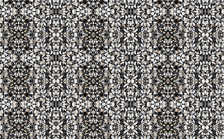 gravel: abstract pattern background made of gravel pavement Stock Photo