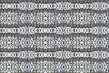 pavement: abstract pattern background made of pavement cobblestones Stock Photo