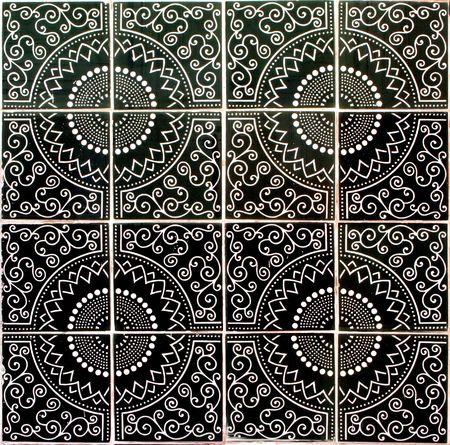 ceramic tiles seamless pattern Stock Photo - 2506443