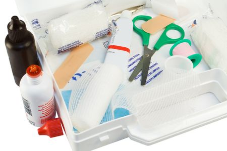 emergency kit: First aid kit