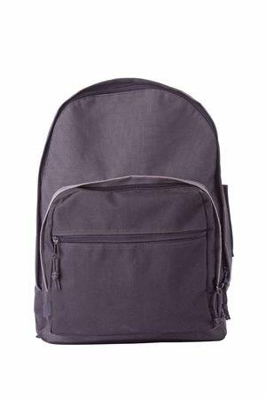 school bag: Scuola Borsa isolato su uno sfondo bianco