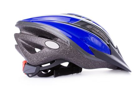 Bicycle helmet isolated on a white background Stock Photo - 3644389