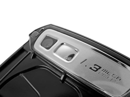 mobilephones: Detail of the camera on a modern camera phone