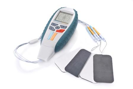 electro: Elektrostimulation Einrichtungen f�r Fitness-und Sport-Physiotherapie Lizenzfreie Bilder