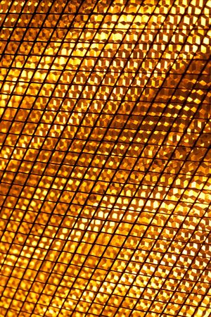 Close up of a halogen heater lamps photo