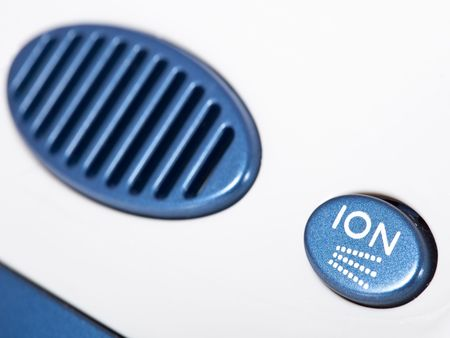 ions: ionic air purifier filter close up macro