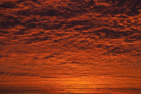 incredible: Incredible sunrise or sunset sky with clouds Stock Photo