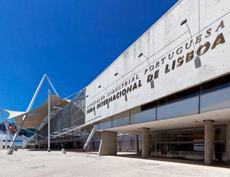 fil: Lisbon, Portugal - August 02, 2013  FIL – Feira Internacional de Lisboa  International Fair of Lisbon  in Parque das Nacoes  Park of Nations